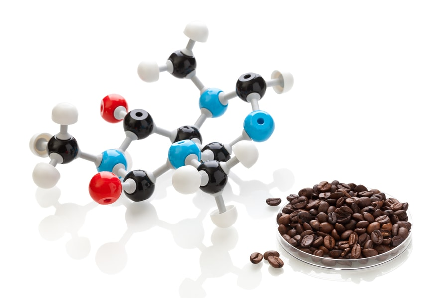 The Caffeine​ Molecule