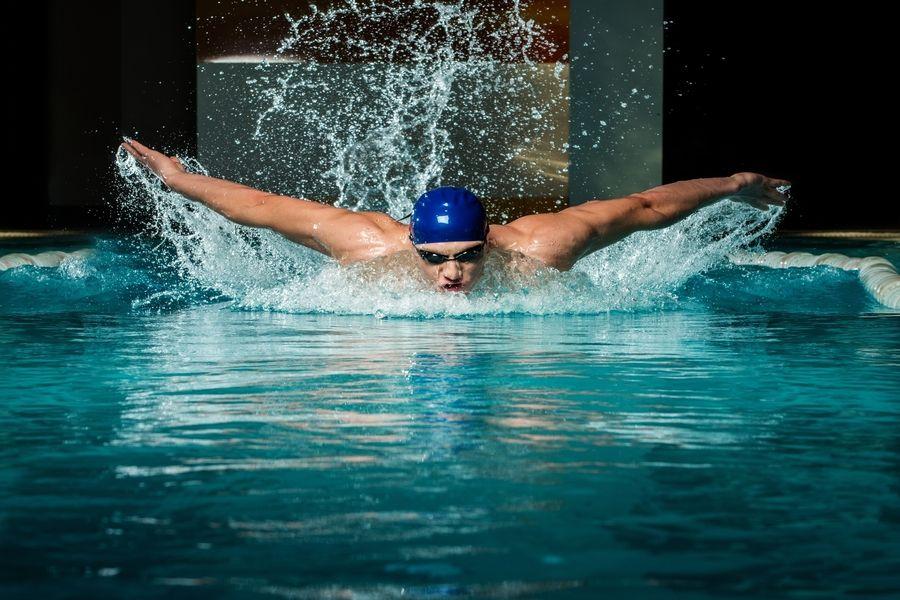 Butterfly Swimmer