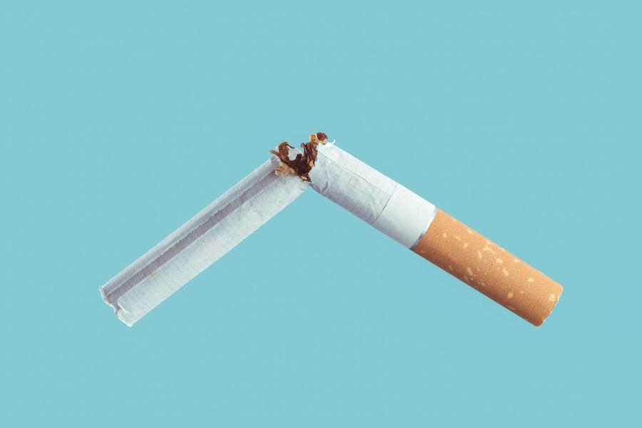 Cigarettes Cut In Half