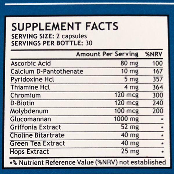 Phen24 Nighttime Ingredient